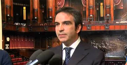 Delegato a presentare le firme dei parlamentari per il referendum sulle Riforme di Renzi