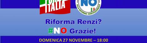 Riforma Renzi? NO Grazie!