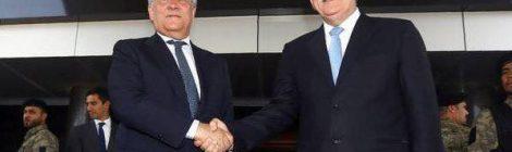 Immigrazione: Tajani UNICO LEADER EUROPEO AD AFFRONTARE SFIDA CON LUCIDITA' E LUNGIMIRANZA